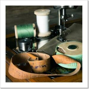 Sewing. Sewing Art Print Canvas Print. Poster Wall Art Home Decor C $1.99