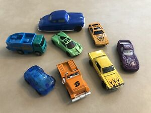 Bundle of 8 Small Cars Mixed Brands Toy Cars