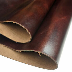 USA Veg Tanned Cowhide Tooling Leather for Moulding Holster Armor 5 6 Oz 2MM $71.06