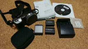 Sony Mirrorless Camera Sonynex 5D Spare Battery Charger Wi Fisd $258.99