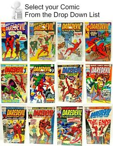 Daredevil Marvel Comic Book Collection #1 200 — U Pick — Your Choice $7.95