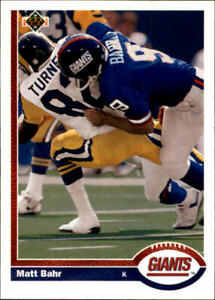 A2637 1991 Upper Deck FB Cards 502 700 Inserts You Pick 10 FREE US SHIP $0.99