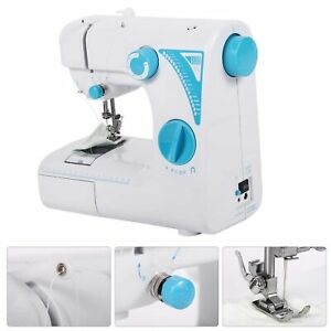 Portable Electric Small Sewing Machine 19 Stitches Household Tailor US 2 Speed $69.51