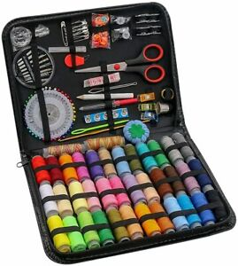 183PCS Premium Sewing Machine KitLarge Sewing Kits for Adults College Students $24.99