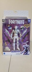 Epic Games Fortnite Scratch Legendary Figure with WEAPONS 40 points Articulation $30.00