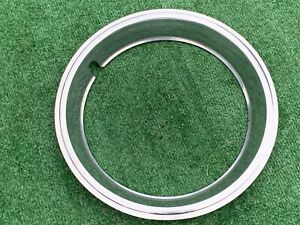 CHEVY RALLY BEAUTY TRIM RING 14 2.5 inch deep 4 Clip Step Style Very Nice Cond $80.00