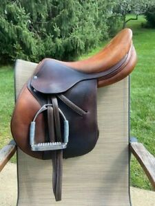 Saddle Antares Sellier 17.5 Normal Seat 2L Normal Flap 04 Great Condition $2400.00