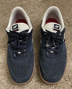 New Balance Numeric 440 Navy Gum Men#x27;s 7.5 Skate Shoes Lightly Used Sneakers