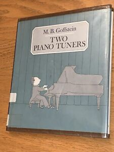 Two Piano Tuners by M. B. Goffstein 1970 HC Ex Library $24.00