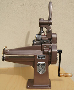 Landis model 25 5 in 1 Bench top leather machine a perfect useable shoe repair . $1550.00