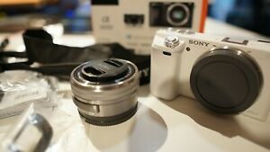 Sony Alpha a6000 Mirrorless Digital Camera with OSS 16 50mm Lens White