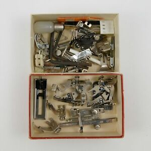 Box of Assorted Sewing Machine Parts $22.00