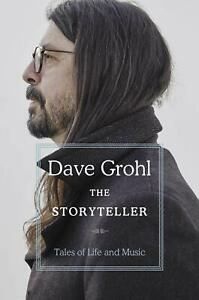 The Storyteller: Tales of Life and Music By Dave Grohl NEW Hardcover 2021 $20.90