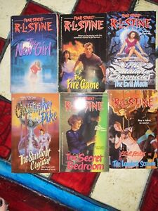 6 R.L. Stine Fear Street amp; Christopher Pike Books First Printings