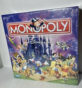 Monopoly: The Disney Edition 2001 NEW UNOPENED $33.50