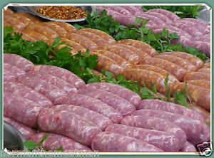 5 LB BOX PORK KING SWEET OR HOT ITALIAN PORK SAUSAGE LINKS SHIPPED FROZEN