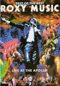 Roxy Music: Live at the Apollo (2003) New Sealed DVD
