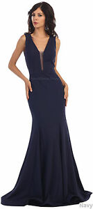 SEXY LONG PROM DRESS DESIGNER EVENING GOWN PAGEANT SPECIAL OCCASION RED CARPET