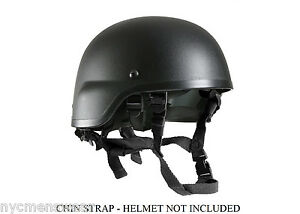 Black Chin Strap For MICH Helmet - Rothco 9612