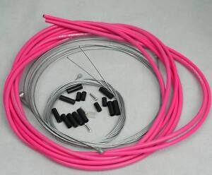 JAGWIRE HOUSING CABLE BRAKE SHIFTER COMPLETE KIT HOT PINK SUIT SHIMANO SRAM AVID $22.93