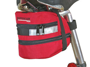 Bushwhacker Carson Red Under Seat Bike Bag Bicycle Cycling Wedge $9.95