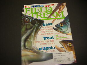 Field amp; Stream Magazine April 2001 East Edition Fishing Issue Best Lures