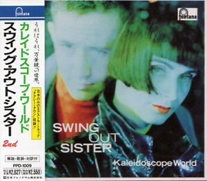 SWING OUT SISTER Kaleidoscope World +5 FIRST PRESS JAPAN CD OBI PPD-1009