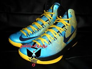 DS 2013 nike kd V 5 N7 QS blue maize native warriors 599294 447 GSW durant