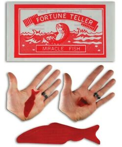 24 Kids Birthday Party Favors Prizes Magic FORTUNE TELLER Telling FISH