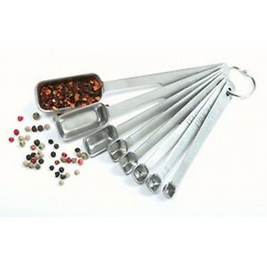THE BEST Norpro 8 Pc Stainless Steel Measuring Spoon Set with Metric Equivalents