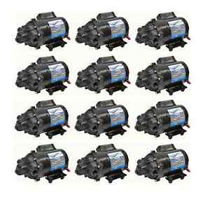 (12) EVERFLO 12 Volt 7.0 GPM Diaphragm Water Pumps 60 psi Lawn Sprayers Boats RV