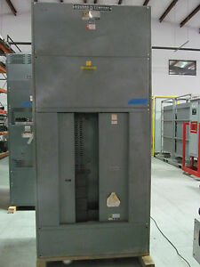 Square D 1600 Amp I Line Panel board HCWM 44-91441-1 3 Phase 4 Wire 208Y120