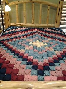 Queen Full Hand Made Vintage Quilt $300.00