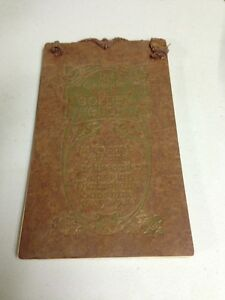 Rare Antique Of Golden Thoughts 1915 Intact Barse amp; Hopkins New York $39.99