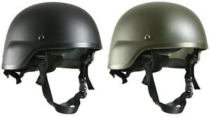 Rothco GI Style Military ABS Plastic MICH-2000 Tactical Helmet & Strap