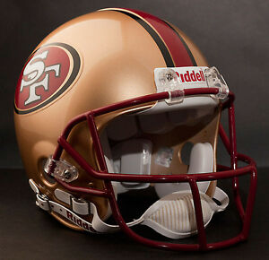 STEVE YOUNG Edition SAN FRANCISCO 49ers Riddell AUTHENTIC Football Helmet NFL