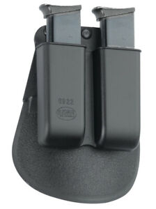 Fobus Double Magazine Pouch for Single Stack .22cal & .380cal Mag excl. Glock 42