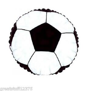 Balloon 18 SOCCER BALL Mylar Foil Sports Balloon Party Decorations Gifts