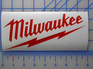 LARGE Milwaukee Tools Decal Sticker 12