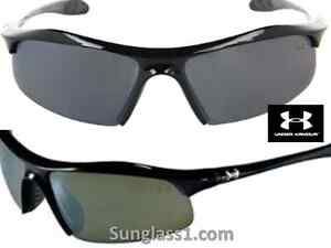 NEW* UNDER ARMOUR ZONE Sunglass BLACK W GREY Triflection Lenses SAVE