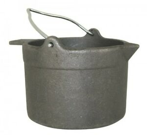 Lyman Reloading Cast Iron Lead Pot 10-Pounds New Free Shipping