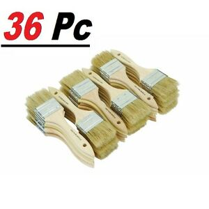 36 Chip Brush Brushes Perfect Adhesives Paint Touchups Sizes 0.5