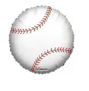 Balloon 18 BASEBALL Sports Mylar Foil Party Birthday Supplies Gifts