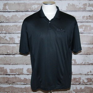 AmSan Golf Polo Uniform Shirt sz XL Nike Fit Dry Janitorial Cleaning Products