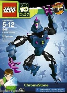 LEGO 8411  Ben 10 Alien Force Chromastone 8411