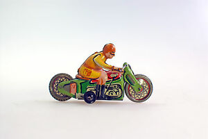 penny toy motorcycle by 1920 1930 he years