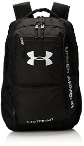 Under Armour Hustle II Backpack Black - New! Ships FAST!