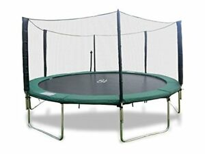 16 FT Round Trampoline with Safety Enclosure Ladder and Lifetime Warranty