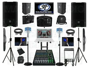 Compact professional karaoke system with karaoke laptop computer, new PV10 AT