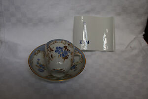 Kpm New Trappings Bleu Mourant Decor 56 Demitasse Saucer Reload Stamp